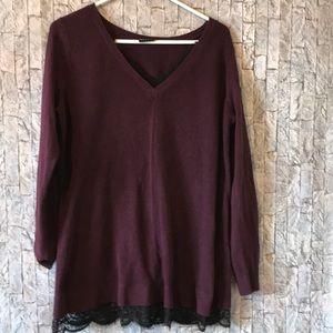 Torrid long sleeve sweater